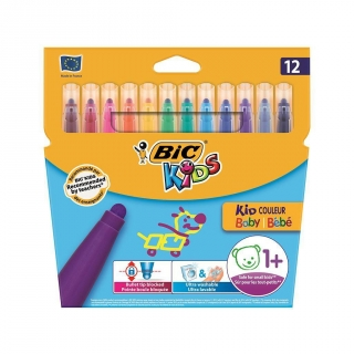 Rotuladores Colores Bic Kids Couleur Baby