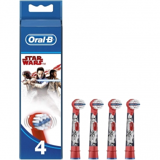 Recambio Cepillo Dental Oral B Star Wars 4 Uds
