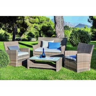 Muebles y decoraci n de jard n al mejor precio carrefour for Muebles de terraza carrefour