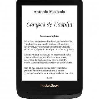eBook PocketBook Touch Lux4 - Negro