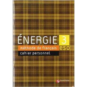 Energie 3 Cahier D'Exercices