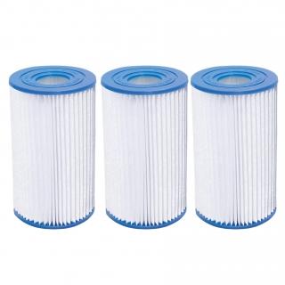 Carrefour pack 3 filtros depuradoras de cartucho las for Filtro piscina carrefour