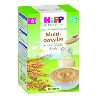 Papilla Multicereales HiPP +4 Meses 400gr