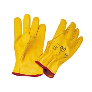 Guantes de cuero flor amarillo talla 7 cody las mejores for Catalogue de jardinerie