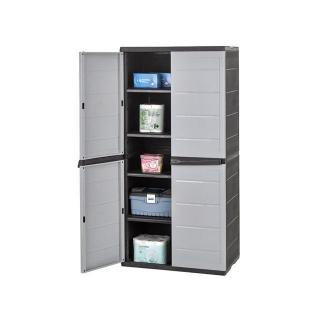 armario alto xl de resina las mejores ofertas de carrefour