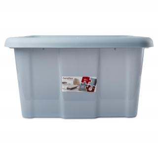 Caja de ordenaci n de pl stico carrefour 49 x 39 x 26 cm azul las mejores ofertas de carrefour - Cajas de ordenacion ...