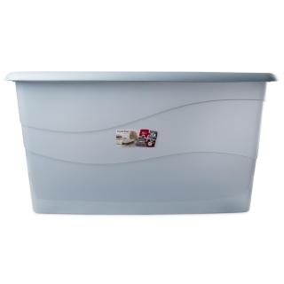 Caja de ordenaci n de pl stico carrefour 75 x 45 x 40 cm azul las mejores ofertas de carrefour - Cajas de ordenacion ...