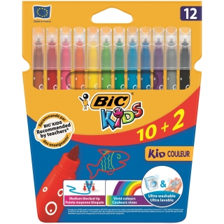 Rotulador Color Kid Couleur 10+2 uds