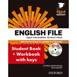English File Upper-Intermediate: Student's Book Work Book With Key Pack (3rd Edition)