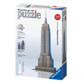 Ravensburger - Puzzle 3D Empire State