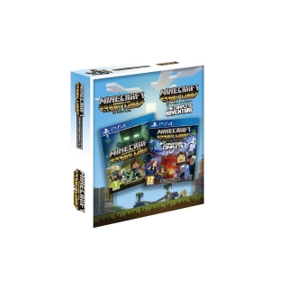 Minecraft: Story Mode - The Complete Adventure+Minecraft: Story Mode 2 para PS4