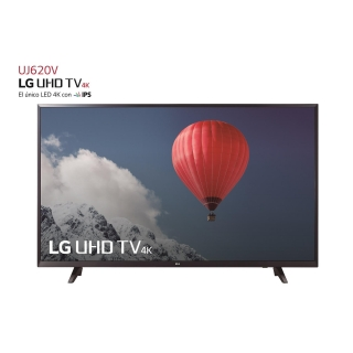 "TV LED 139,7 cm (55"") LG 55UJ620V, UHD 4K, Smart TV"