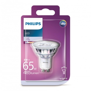 Bombilla Dicroica Led Philips 65W GU10