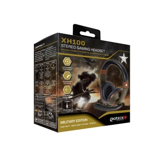 Headset Gioteck XH100 Military Edition Multiplataforma