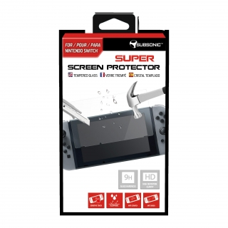 Protector Tempered Glass para Nintendo Switch
