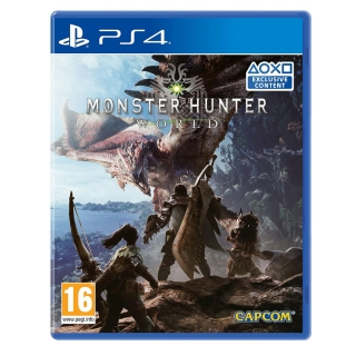 Monster Hunter World Lenticular Edition para PS4