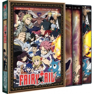 Fairy Tail Temporada 14 Episodios 154 a 164 DVD