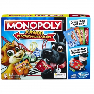 Hasbro - Monopoly Junior Electronico