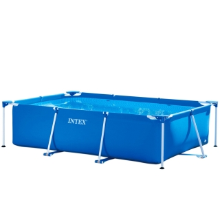 Piscina Small Frame Familiar 220x150x60cm