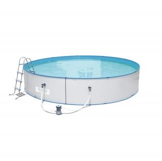 Piscina rectangular frame 287x201x100 cm las mejores for Depuradora piscina carrefour