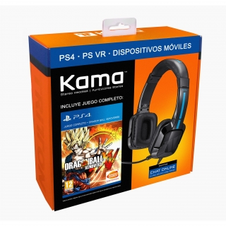 Auricular Stereo + Dragon Ball Xenoverse para PS4