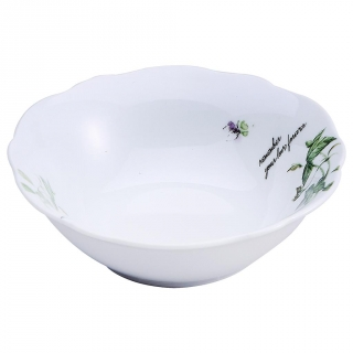 Bowl Redondo de Porcelana BRUNCHFIELD Remember 1pz - Decorado