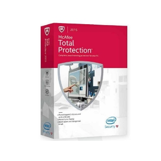 Antivirus McAfee Total Protection 2015 1 Licencia