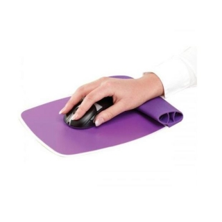 Alfombrilla Fellowes Reposamuñecas Flexible - Violeta