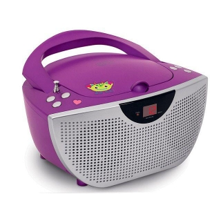 Radio CD Bigben CD55 Stick - Purpura