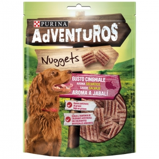 Nuggets Snack Nuggets para Perro con Aroma a Jabalí 90g