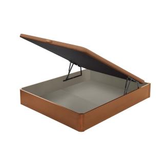 Abatible madera flex 19 tapa 3d 105x190cm cerezo las for Cama canape carrefour