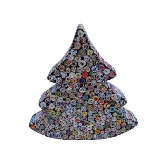 Rbol de navidad de papel reciclado las mejores ofertas - Arbol de navidad carrefour ...