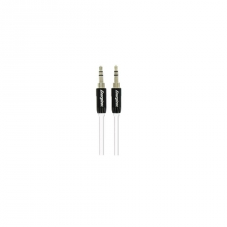 Cable de Audio Energizer LCAEHJACKBK - Negro