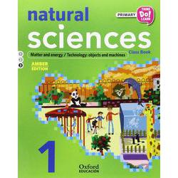 Think Do Learn Natural Science 1st Primary Student's Book Module 3 Amber