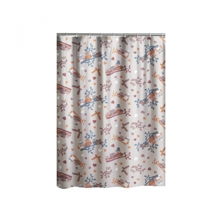 Cortina de baño  de  home 180CM Carrefour Home - Estampado