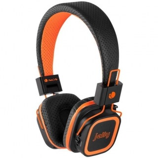 Auriculares con Bluetooth NGS Artica Jelly - Naranja