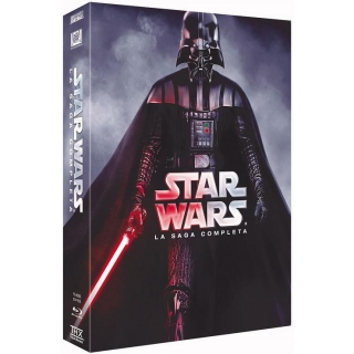 Star Wars Saga Completa 2015 - Blu Ray