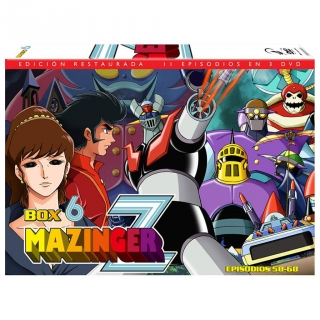 Mazinger Z Box 6 - DVD