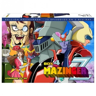 Mazinger Z Box 4 - Blu Ray