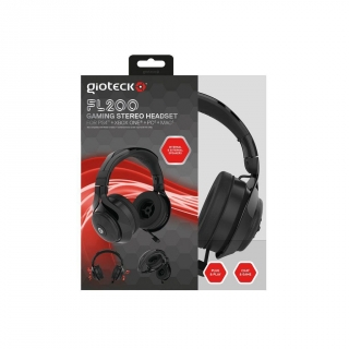 Auricular Flow 200 Stereo para PS4 - Negro