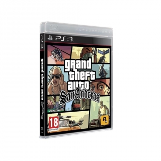 Grand Theft Auto San Andreas para PS3