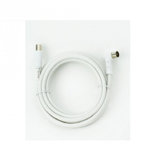 Cable TV M/H 90º Prolinx R-2  2,5mtrs - Blanco