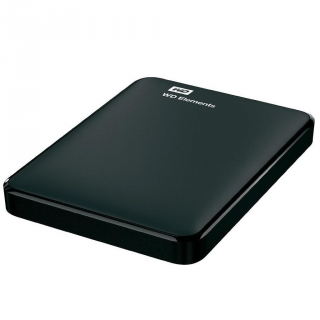 Disco Duro Externo HDD WD Elements 2,5 3TB - Negro