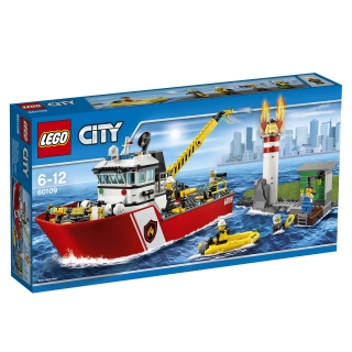 Lego  Barco de Bomberos Las mejores ofertas de Carrefour