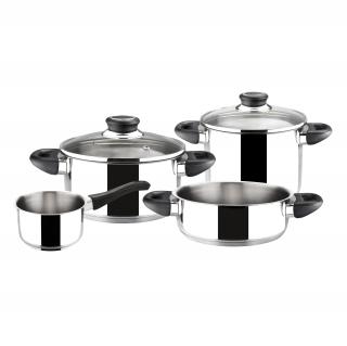 bateria de cocina de acero inoxidable magefesa royal 6pzs