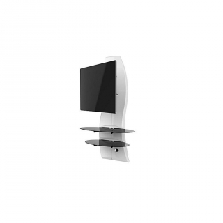 Soporte TV Ghost 2000 Meliconi Giratorio - Blanco