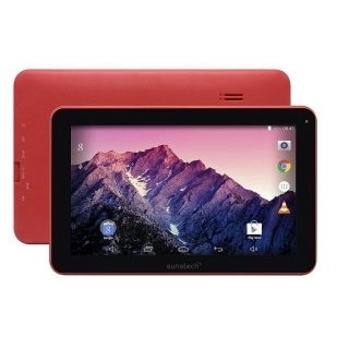 "Tablet  Sunstech TAB92QC con Quad Core, 512MB, 8GB, 9"" - Roja"