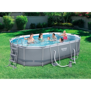 Piscina power steel pro las mejores ofertas de carrefour for Carrefour piscine tubulaire