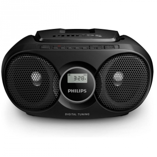 Radio CD Philips AZ215B/12 - Negro