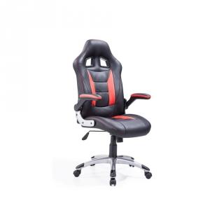 Sill n giratorio de polipiel gaming 120 cm negro las for Ofertas de sillas de oficina en carrefour